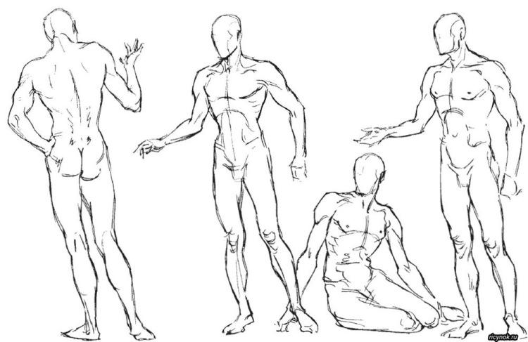 Как сделать эффект движения волос на рисунке