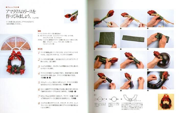 Как сделать елочный венок своими руками пошагово