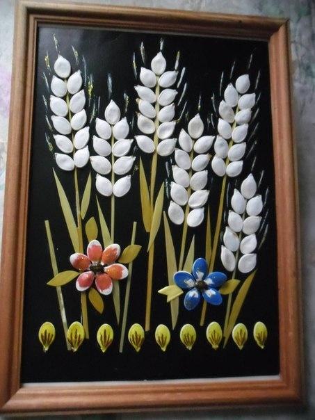Поделка из семян своими руками фото
