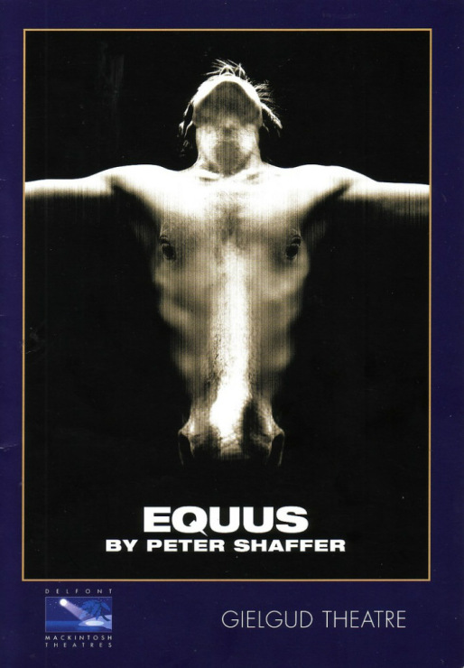 equus by peter schaffer essay Essays on peter shaffer we have found 500 essays on peter shaffer amadeus 1 pages (250 words) nobody downloaded yetpeter shaffer in 1970's and was.