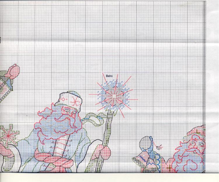 Схемы для вышивки крестом на юбке 619