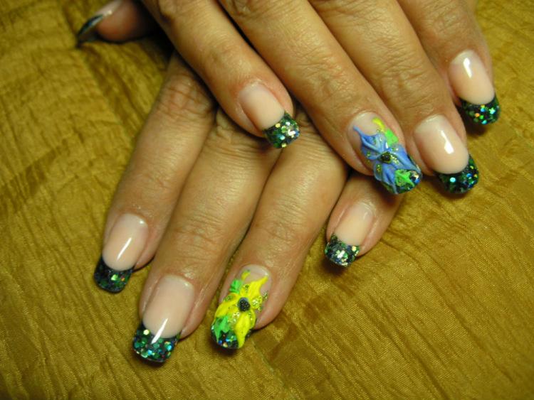 Красивые сочетания цветов на ногтях
