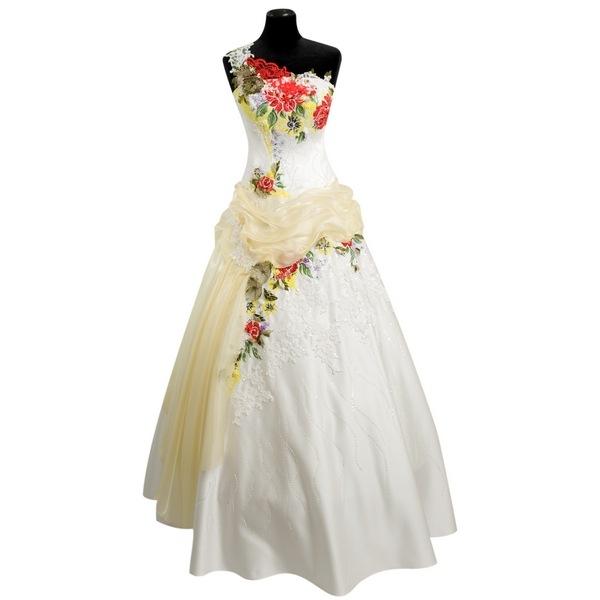 Вышивка платье свадебное платье 47