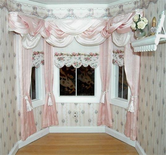 Занавески в кукольный домик своими руками