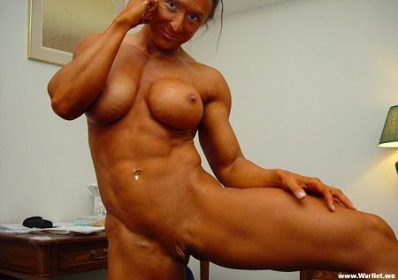 бодибилдинг голые девушки фото