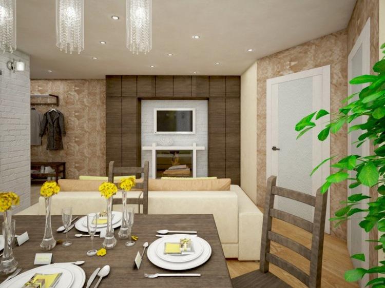 3 х комнатная брежневка дизайн