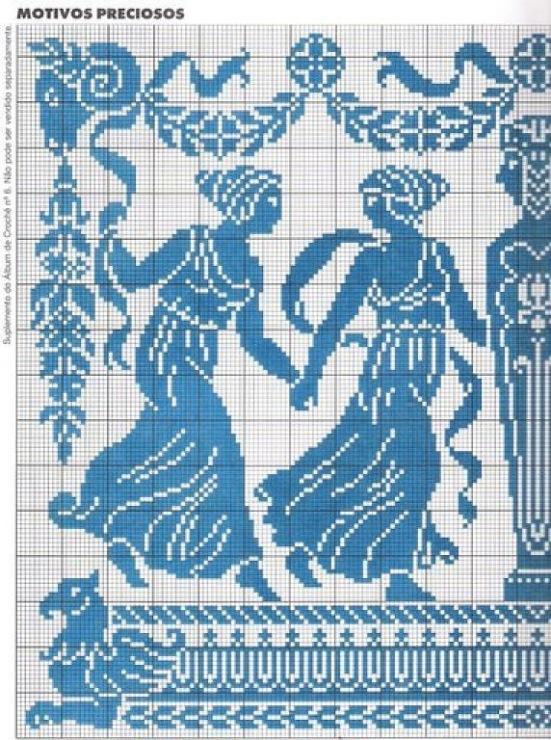 Схема вышивки гречанки 90