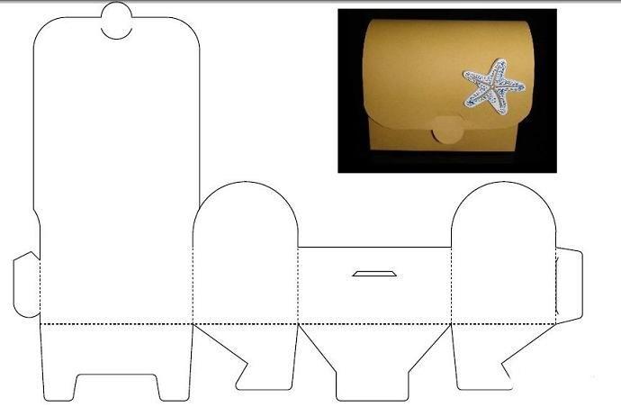 Подарочные коробки шаблоны из картона