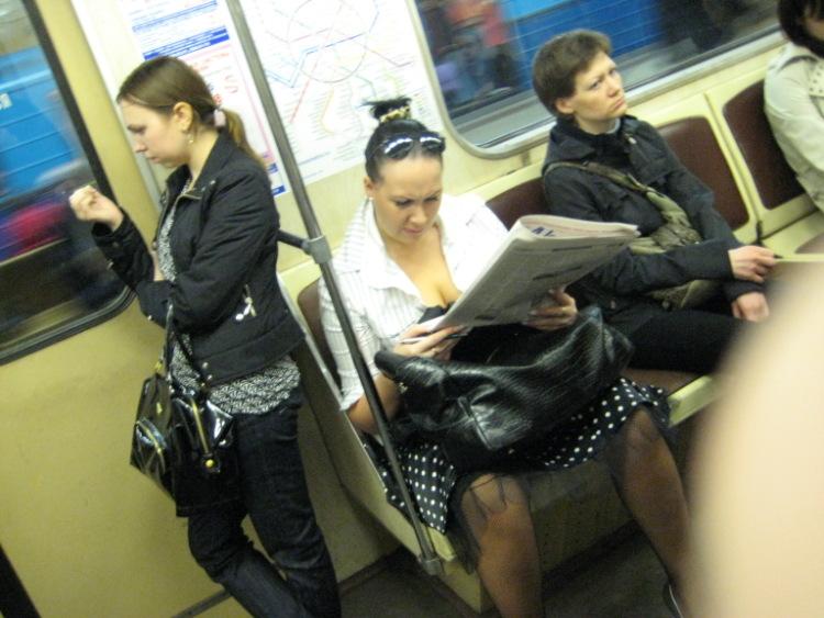 Скрытая камера в японском метро