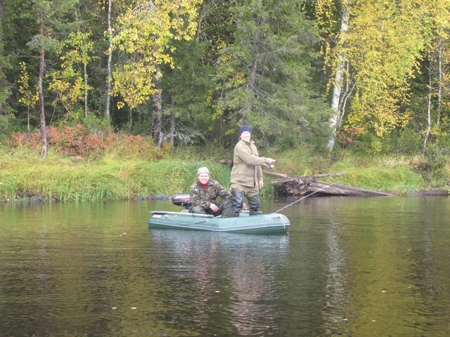 карелия река водла рыбалка